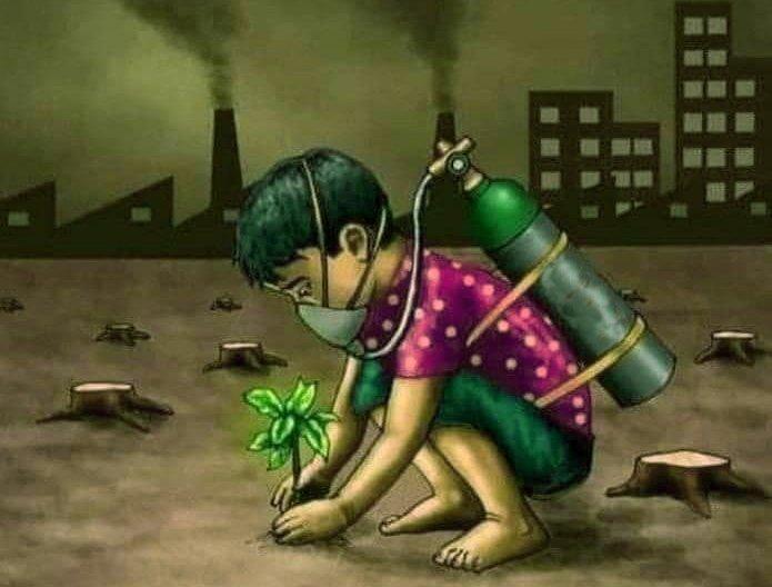 विश्व पर्यावरण दिवस : अब दरख़्त नहीं, दरकती सांसें बचाओ